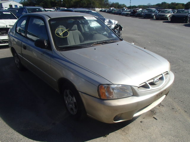 2002 HYUNDAI ACCENT GS 1.6L