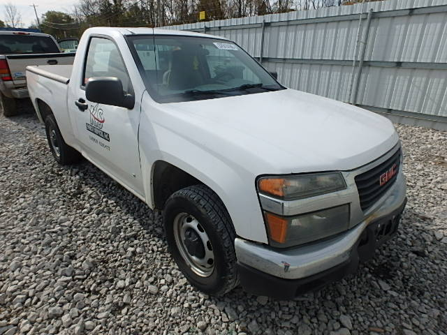 1GTCS14E688171867 - 2008 GMC CANYON