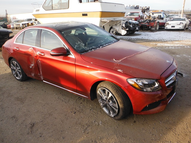 Auto auction ended on vin 55swf4kbxgu174554 2016 mercedes for Mercedes benz of anchorage