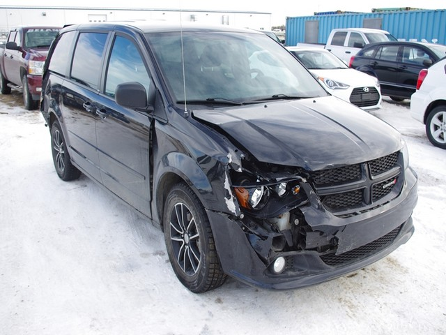 2014 dodge grand caravan for sale at copart calgary ab lot 18531487. Black Bedroom Furniture Sets. Home Design Ideas
