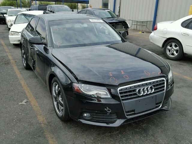 2012 AUDI A4 2.0T PR 2.0L