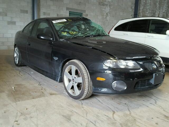 6G2VX12U26L545672 - 2006 PONTIAC GTO