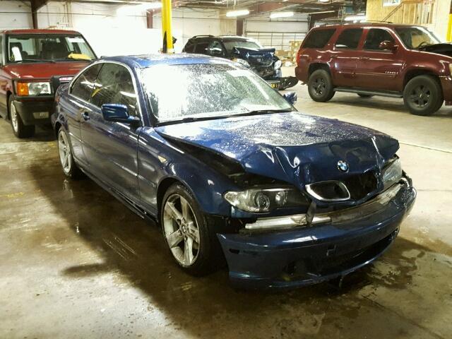 2004 BMW 325CI 2.5L