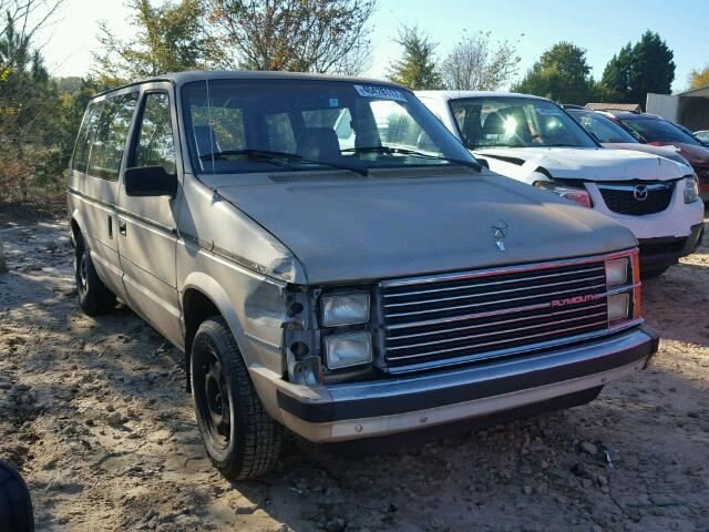 1984 PLYMOUTH VOYAGER SE 2.6L