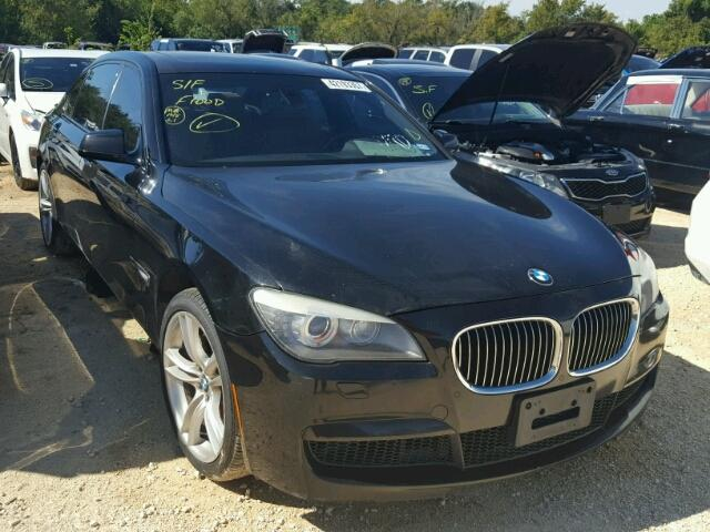 2012 bmw 740 li for sale tx houston salvage cars. Black Bedroom Furniture Sets. Home Design Ideas