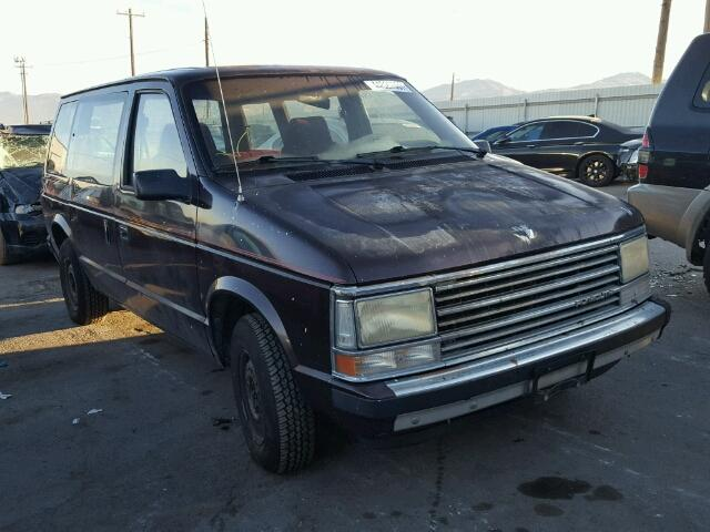 1988 PLYMOUTH VOYAGER 2.5L