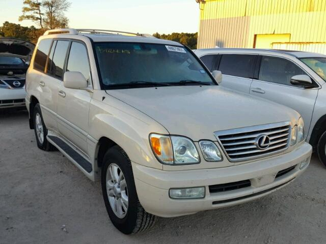 Lexus LX salvage cars for sale: 2006 Lexus LX