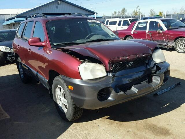 auto auction ended on vin km8sb12b42u242935 2002 hyundai santa fe in il peoria autobidmaster