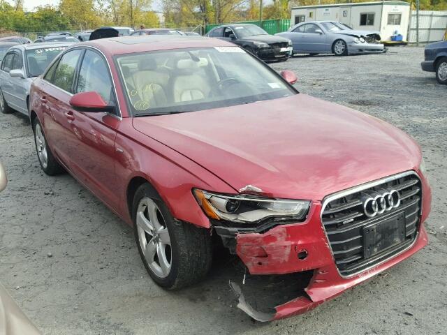 2012 AUDI A6 PREMIUM 3.0L