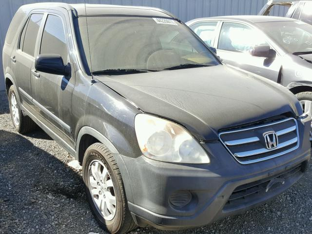 2005 HONDA CR V EX 24L