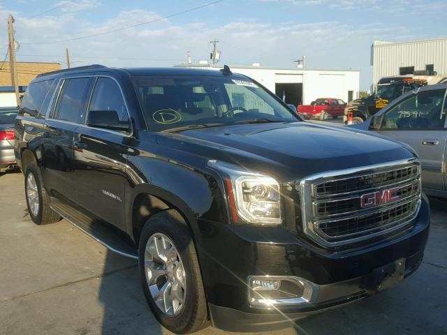 2015 gmc yukon xl c1500 sle for sale tx dallas salvage cars copart usa. Black Bedroom Furniture Sets. Home Design Ideas