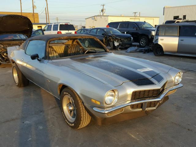 1971 CHEVROLET Z28