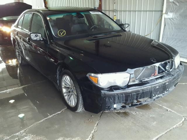 2005 BMW 745 4.4L