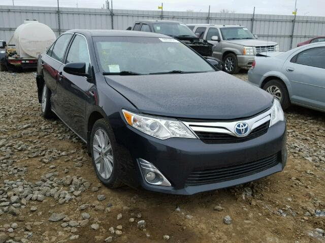 2014 toyota camry hybrid for sale ab edmonton salvage cars copart usa. Black Bedroom Furniture Sets. Home Design Ideas