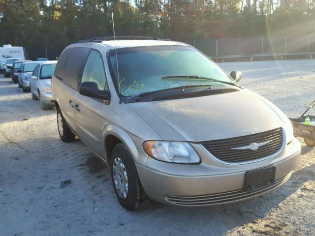2002 CHRYSLER TOWN & COU 3.3L