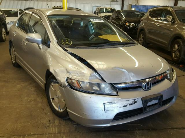 2007 HONDA CIVIC 1.3L