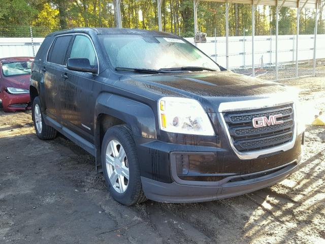 auto auction ended on vin 2gkalmek7g6260687 2016 gmc terrain sl in sc greer. Black Bedroom Furniture Sets. Home Design Ideas