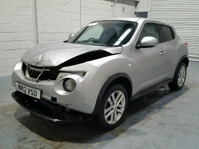2012 nissan juke tekna for sale at copart uk salvage car auctions. Black Bedroom Furniture Sets. Home Design Ideas