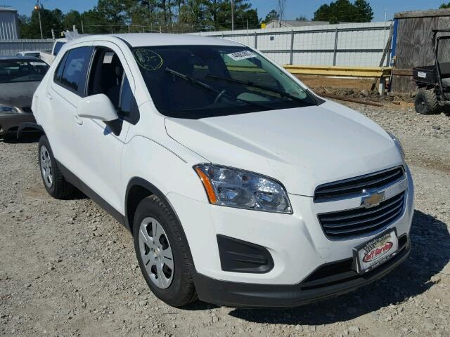 2015 Chevrolet Trax Ls For Sale Ms Jackson Salvage Cars