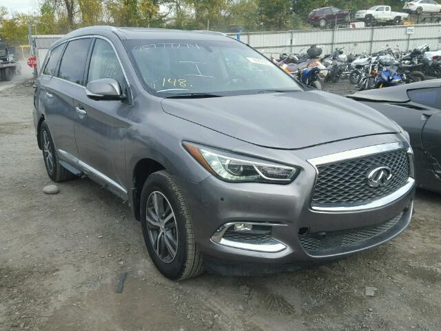 2017 infiniti qx60 for sale ny newburgh salvage cars copart usa. Black Bedroom Furniture Sets. Home Design Ideas