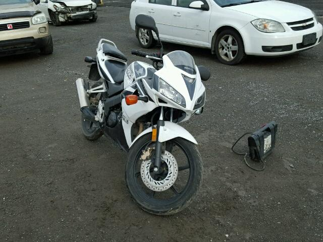 Auto Auction Ended On Vin Mlhjc392x85100409 2008 Honda Cbr125 R In