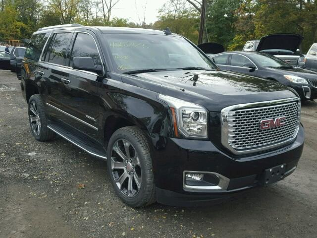 2017 gmc yukon denali for sale ny newburgh salvage. Black Bedroom Furniture Sets. Home Design Ideas