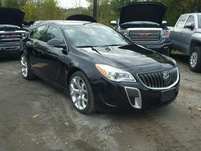 Auto Auction Ended On Vin 2g4gt5gx6h9148995 2017 Buick Regal Gs In