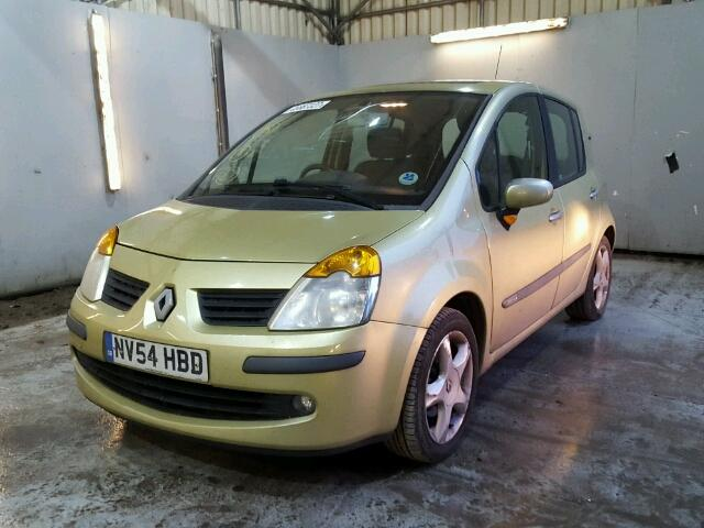 2005 renault modus dyna for sale at copart uk salvage car auctions. Black Bedroom Furniture Sets. Home Design Ideas
