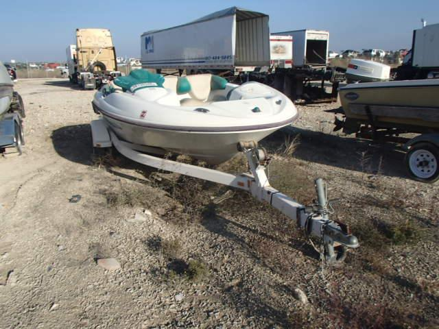 Salvage 1997 Bombardier BOAT WITH TRAILER for sale