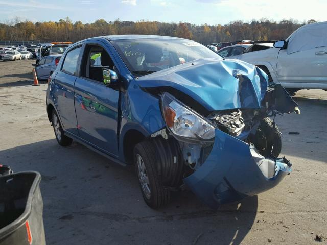 Auto Auction Ended on VIN: ML32A4HJ6FH045788 2015 MITSUBISHI MIRAGE