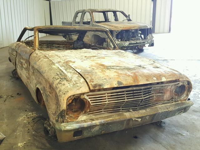 Auto Auction Ended on VIN: 3R17F179377 1963 Ford Falcon in CA