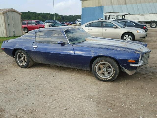 1971 chevrolet camaro ss for sale at copart houston tx lot 45739287. Black Bedroom Furniture Sets. Home Design Ideas