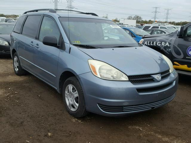 2004 TOYOTA SIENNA LE 3.3L