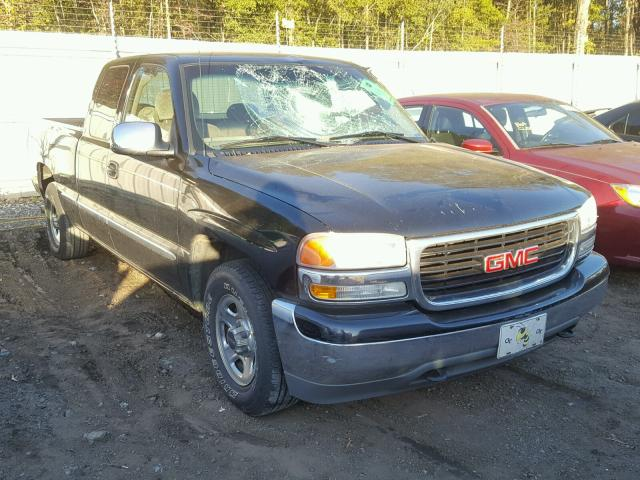 2001 GMC NEW SIERRA 4.8L