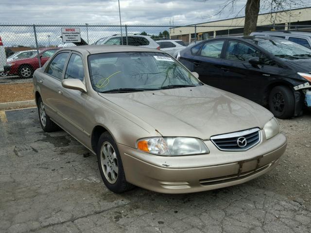 2000 MAZDA 626 2.0L