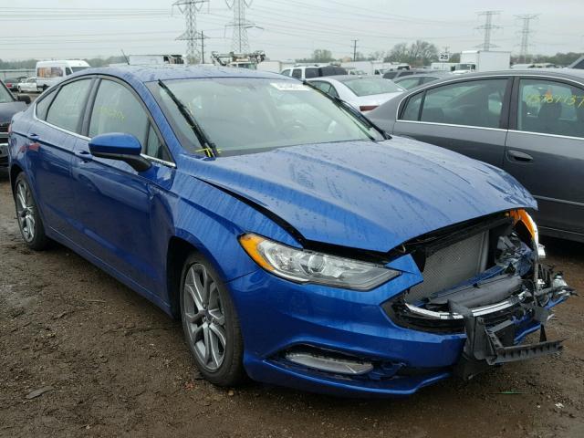 2017 Ford Fusion Se 2 5l