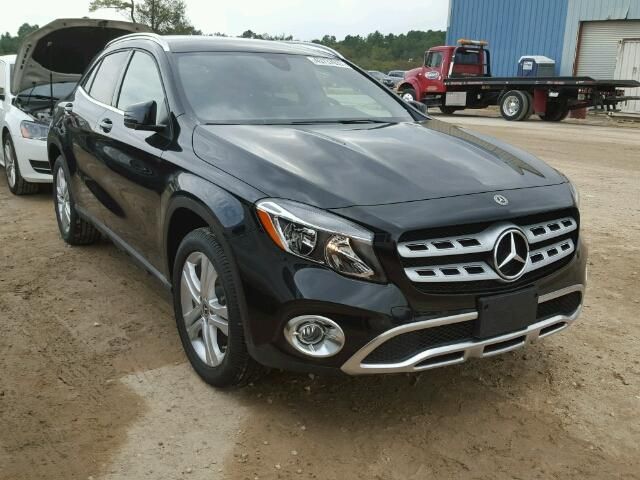 Mercedes-Benz GLA salvage cars for sale: 2018 Mercedes-Benz GLA