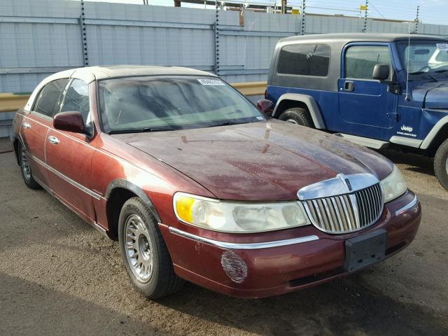 2002 Lincoln Town Car Cartier Photos Salvage Car Auction Copart Usa