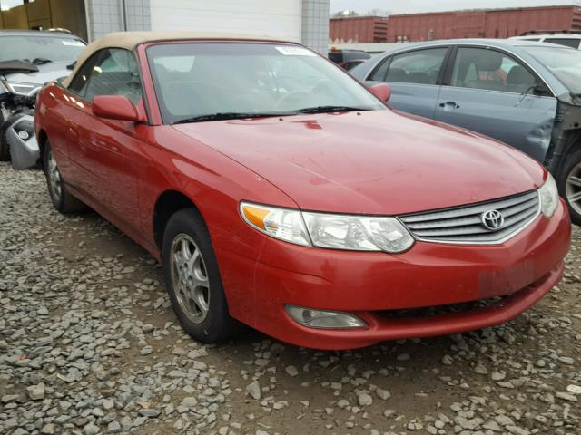 2003 TOYOTA CAMRY SOLA 2.4L