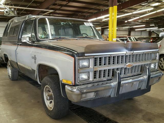 1982 CHEVROLET K10 6.2L