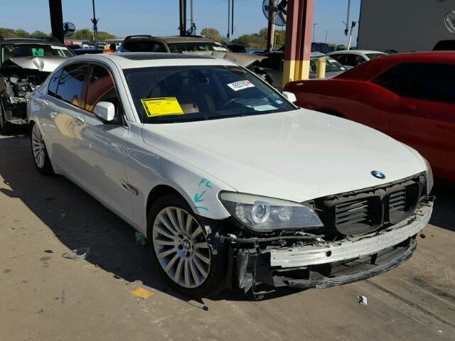 2010 BMW 750 4.4L