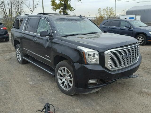 2015 gmc yukon xl denali for sale qc montreal salvage cars copart usa. Black Bedroom Furniture Sets. Home Design Ideas