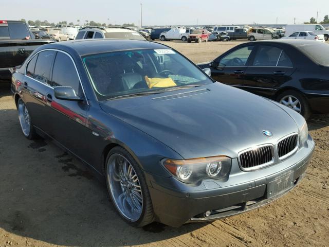 2002 BMW 745 44L