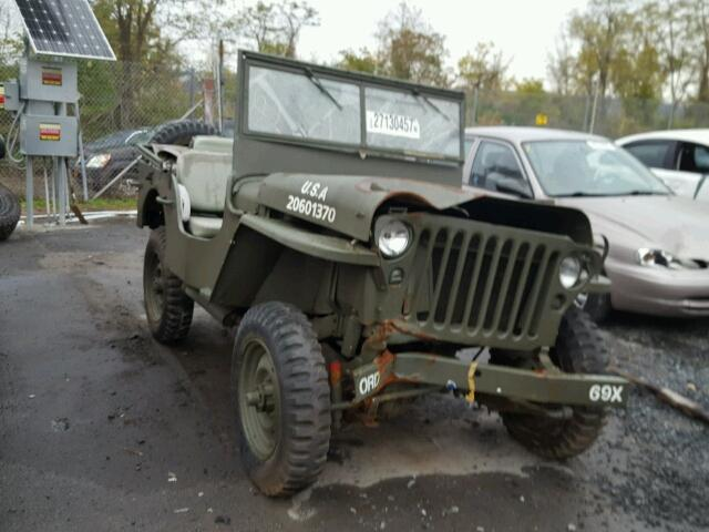 Auto Auction Ended On Vin 40212 1942 Jeep Willeys In Ny Newburgh