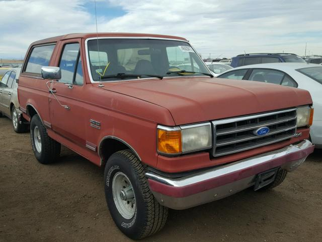 auto auction ended on vin 1fmeu15n0mla68416 1991 ford bronco u10 in