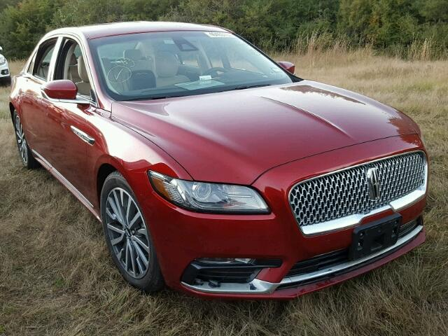 2017 Lincoln Continental for sale in Houston, TX