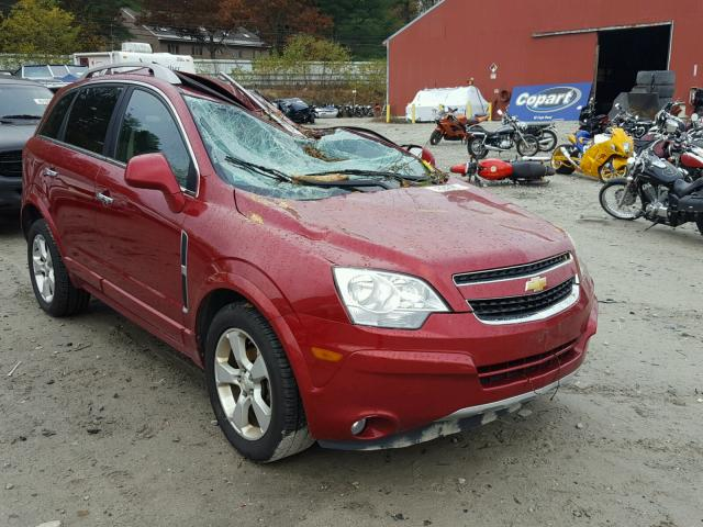 2013 CHEVROLET CAPTIVA LT 2.4L