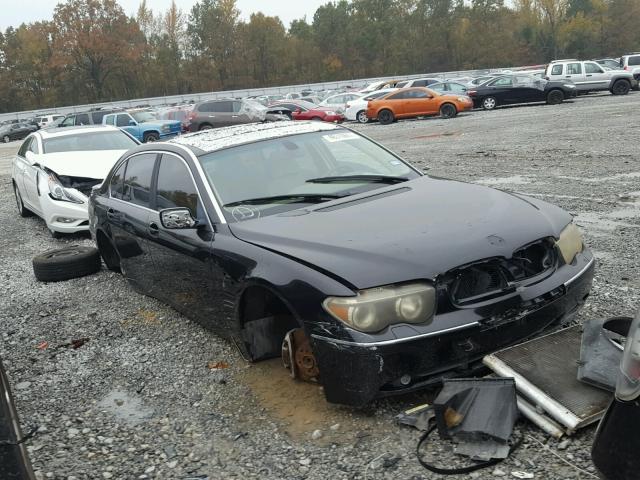 2002 BMW 745 4.4L