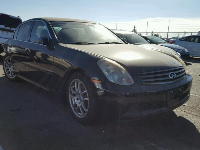 2006 INFINITI G35 3.5L