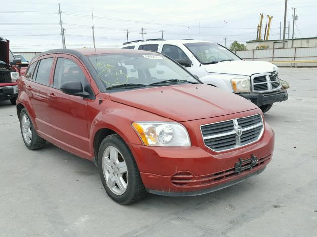 Salvage cars for sale from Copart Haslet, TX: 2009 Dodge Caliber SX